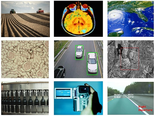 Obvyklé oblasti aplikace strojového učení