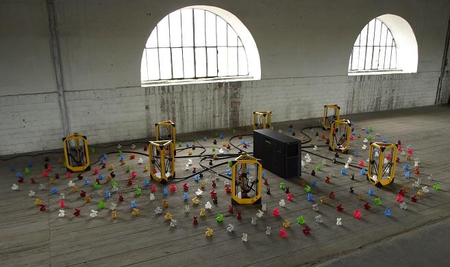 3d tisk - umělecká instalace