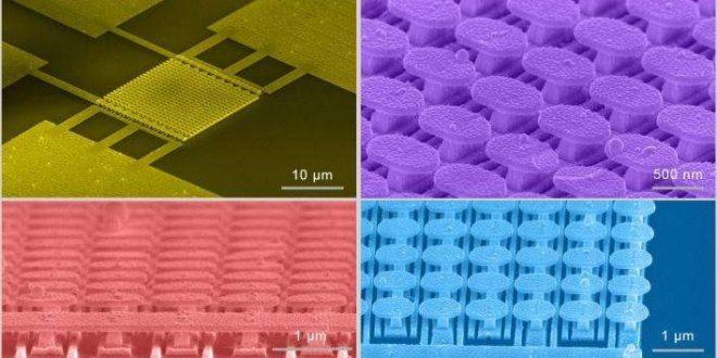 Nanostruktura, foto ze STM, Credit: UC San Diego Applied Electromagnetics Group