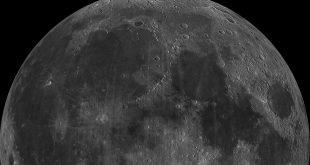 Měsíc, zdroj: NASA/Wikipedia, licence obrázku public domain