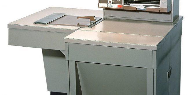 Xerox 914, první masově používaná kancelářská kopírka, (c) Fuji Xerox